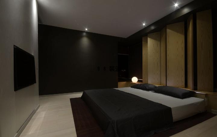 昆山伯爵大地三室两厅102平米效果图-案例-昆山98装潢网
