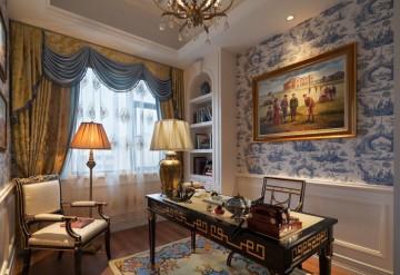 承德别墅266平米法式风格