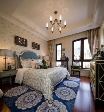张家港联排别墅157平米法式风格