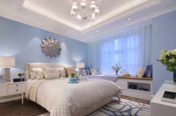 昆山两室两厅114平米美式