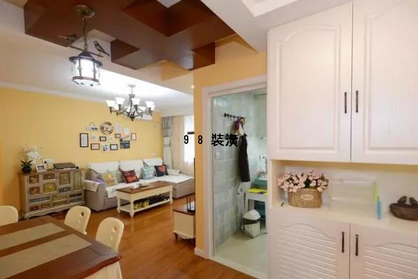 黄骅小两房一厅装修效果图-案例-黄骅98装潢网