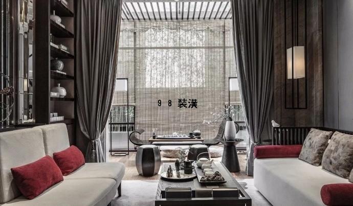晋江中式之美效果图-案例-晋江98装潢网