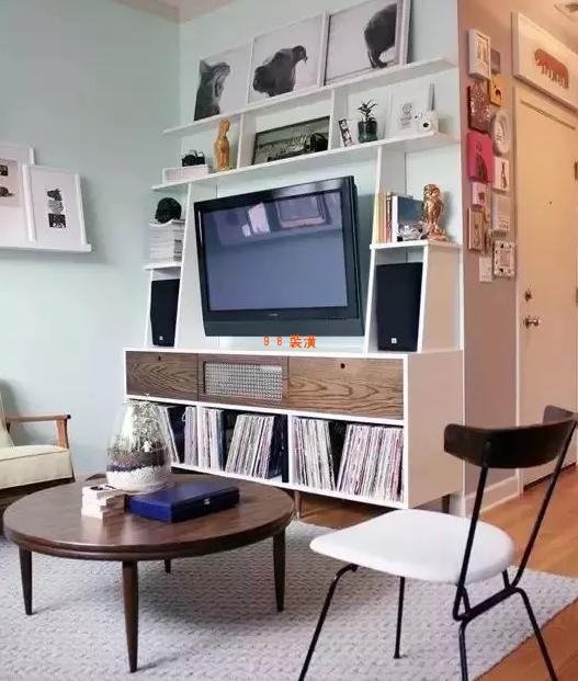 昆山装修小户型效果图-案例-昆山98装潢网