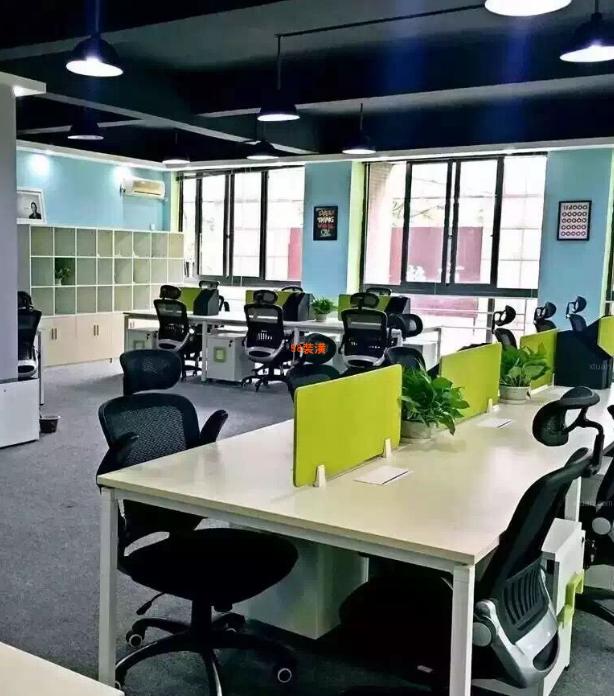 昆山办公室翻新装修效果图-案例-昆山98装潢网