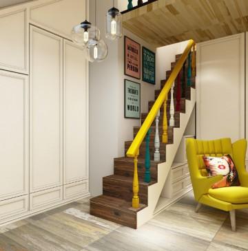 昆山复式公寓装修