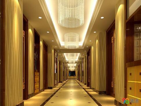 昆山酒店装修效果图-案例-昆山98装潢网