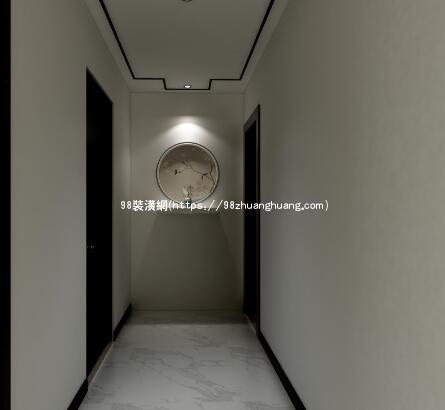 太仓新中式家装效果图-案例-太仓98装潢网