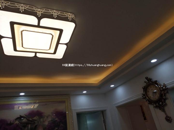 晋江毛坯房简易装修效果图-案例-晋江98装潢网