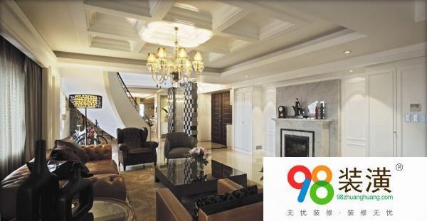 装修价格表别墅客厅吊顶注意事项 别墅客厅装修设计要点