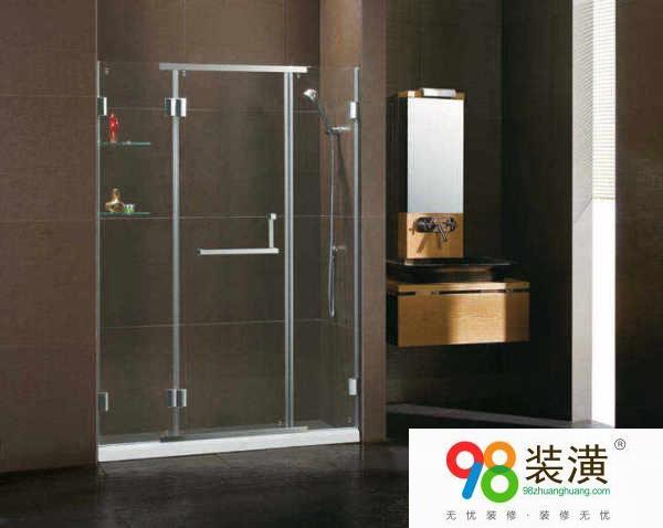 装修改造卫生间淋浴玻璃隔断设计技巧  玻璃隔断设计要点