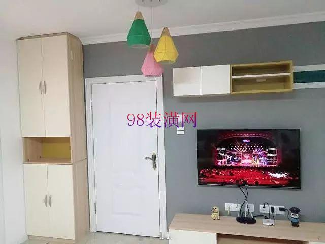 张家港70平两居室温馨小家装修 营造简单而温馨舒适的家