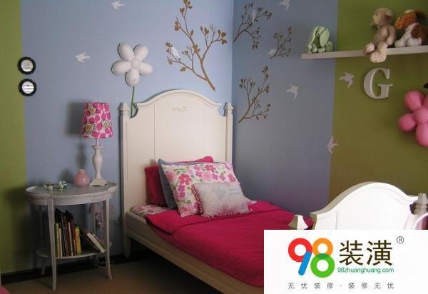 如何挑选卧室墙颜色 儿童房的墙涂什么颜色