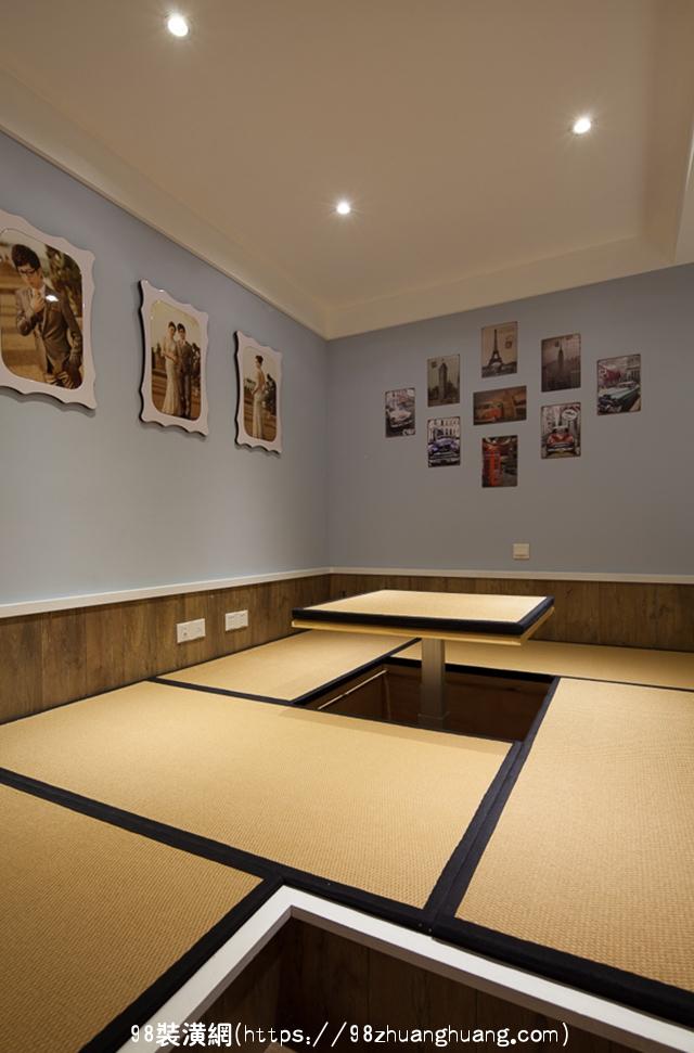 黄骅美式三居室榻榻米装修效果图效果图-案例-黄骅98装潢网