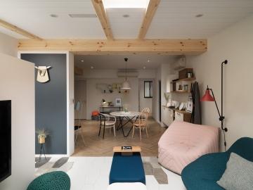 北欧风格小公寓装修效果图