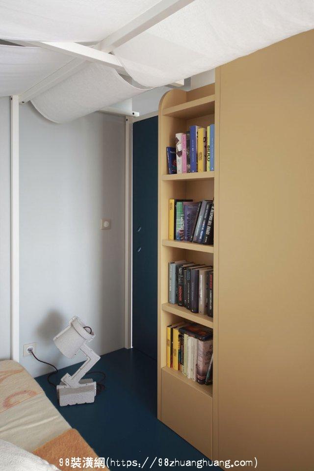 昆山50平米单身公寓装修案例效果图-案例-昆山98装潢网