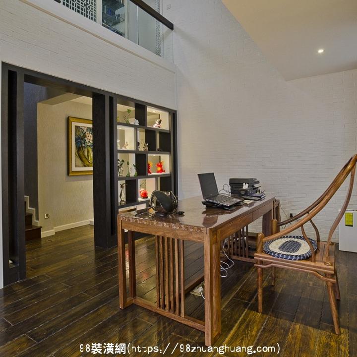 昆山复式楼中式风格装修效果图效果图-案例-昆山98装潢网