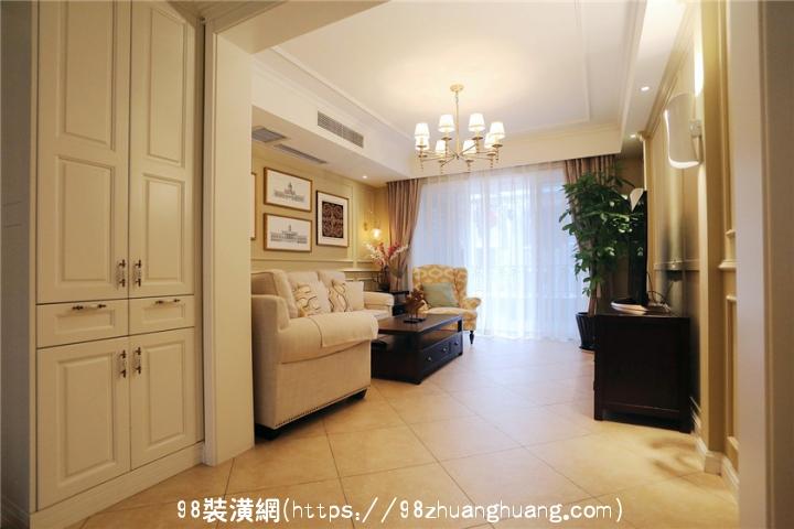 天津四居室美式风格装修案例效果图-案例-天津98装潢网