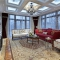 白山180平米美式轻奢风格别墅装修效果图案例