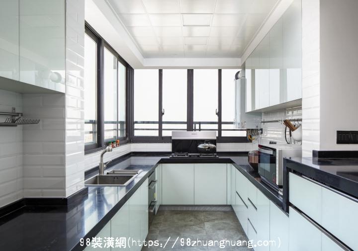 晋江180平米现代风格复式楼装修效果图效果图-案例-晋江98装潢网