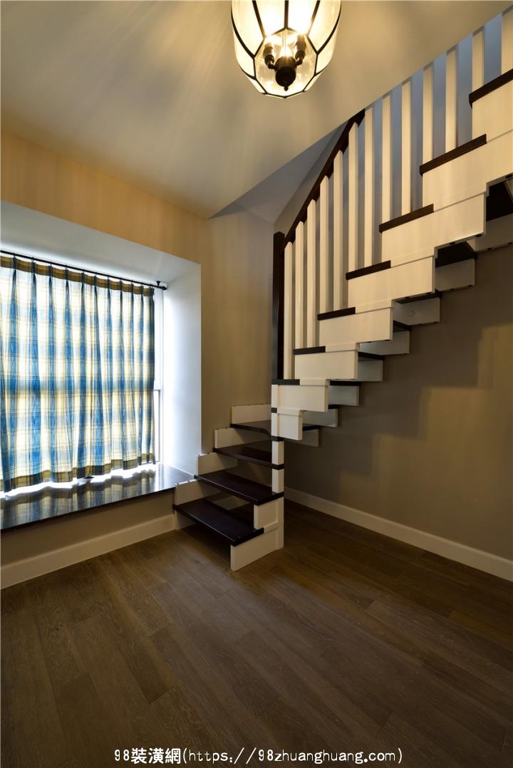 昆山168平米复式楼简美风格装修效果图效果图-案例-昆山98装潢网