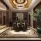 白山200平米新中式风格装修效果图-复式楼