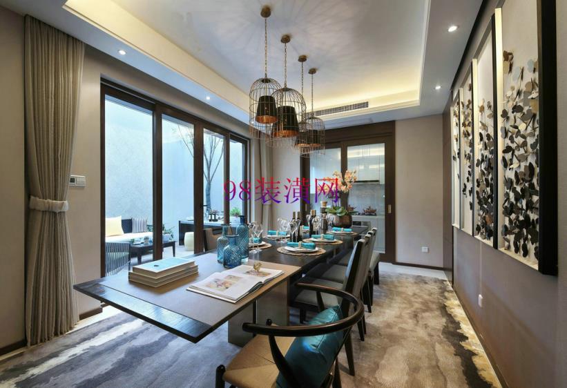 太仓别墅装修设计中玄关的设计原则以及设计形式