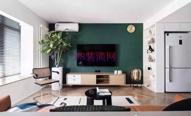 千灯40㎡现代LOFT公寓设计 看小空间如何玩转时尚色彩
