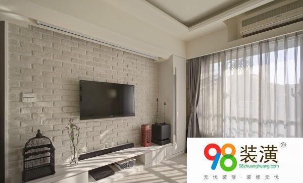 201990平米二室二厅装修设计 装修注意事项