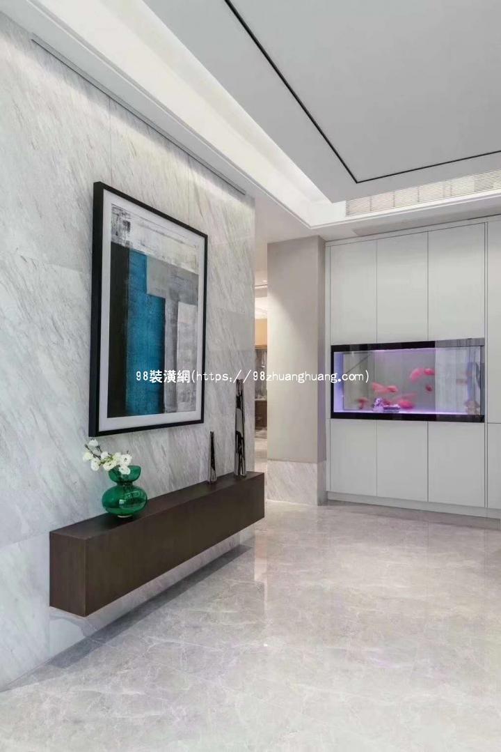 昆山130平米现代风格装修效果图欣赏效果图-案例-昆山98装潢网