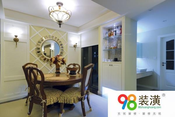 太仓50平小户型家装样板间  装修样板房设计时要注意什么,
