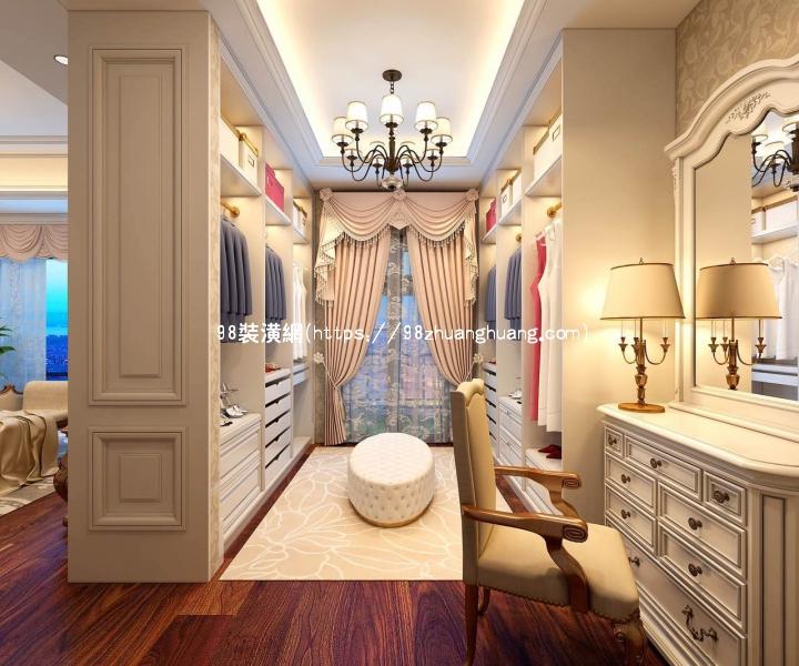 黄骅轻奢欧式别墅设计装修效果图-案例-黄骅98装潢网