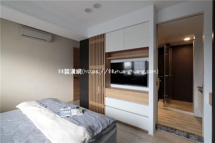 重庆现代简约风格装修效果图效果图-案例-重庆98装潢网