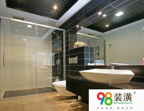 昆山卫浴间玻璃隔断安装方法是什么  卫浴间玻璃隔断安装注意什么