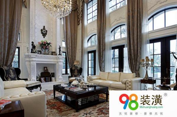 昆山内装修欧式风格的搭配 室内欧式风格设计注意事项