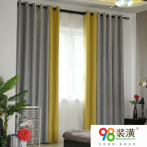 粉室墙面配什么色窗帘 窗帘什么颜色好