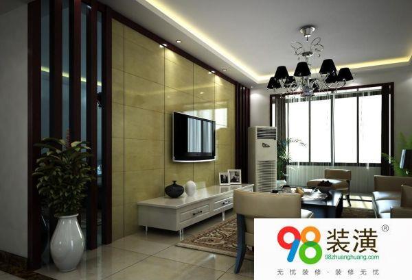 客厅电视墙装修效果图装修技巧 颜色搭配技巧