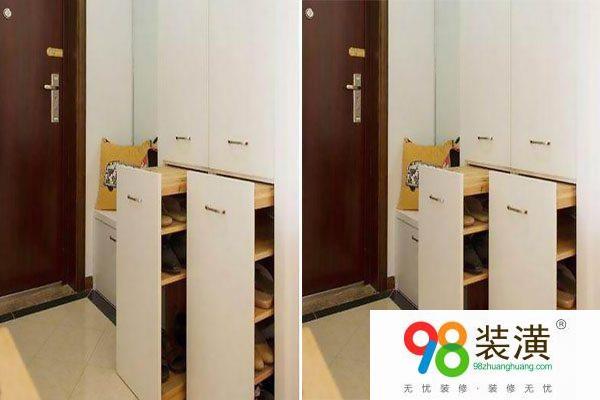 订做鞋柜高度多少合适 鞋柜应该怎么设计