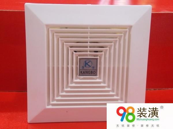 天花板管道式换气扇 换气扇的安装步骤