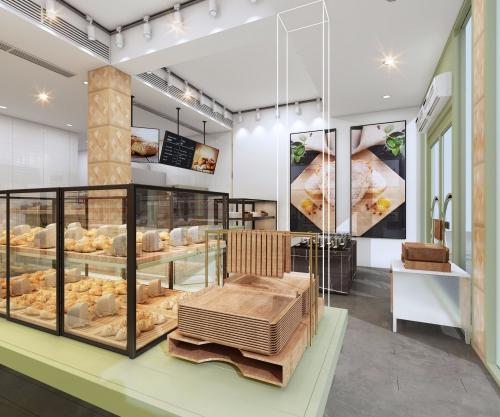 面包烘培店装修