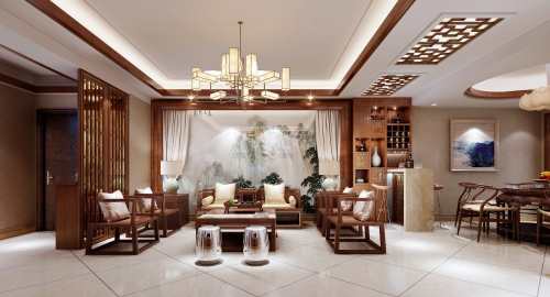 自建房中式风格